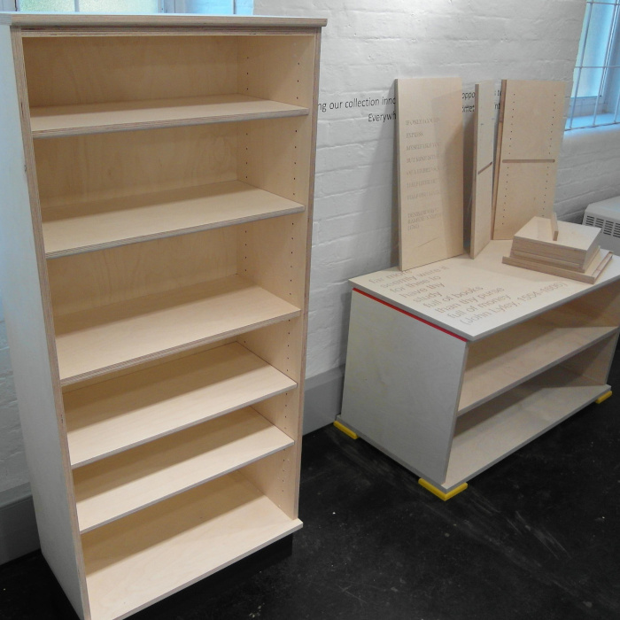 Early code-driven bookcases